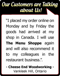 Cheese End Woodworking