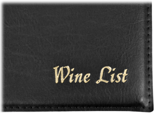 Wine List Cover