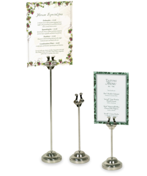 Metal Table Stands  - Table Tents