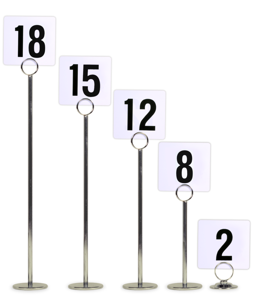 Table number stands for Table numbers