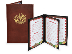 Bonded Leather Menu Covers image