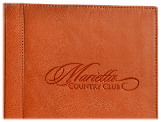 Genuine Leather Menu Covers