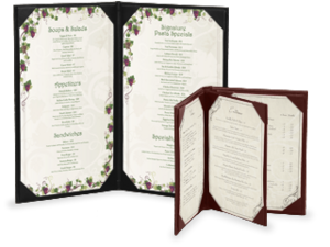 Casebound Menu Covers image