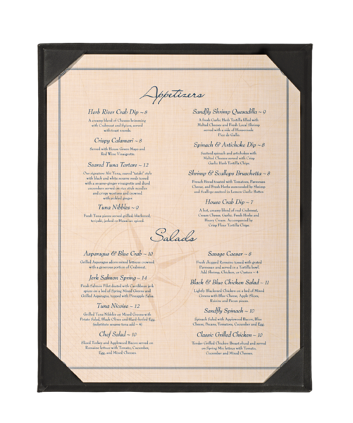 Single Menu Holders image