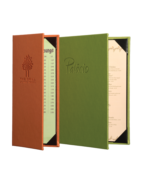 Milano Leather Menu Covers image