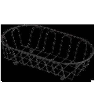 Medium Black Powder Coated French Basket