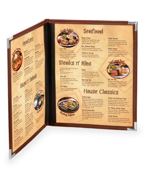 Double Dynasty Menu Covers