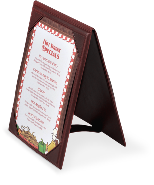 Vinyl A-Frame Table Tents  sc 1 st  The Menu Shoppe & A-Frame Table Tents