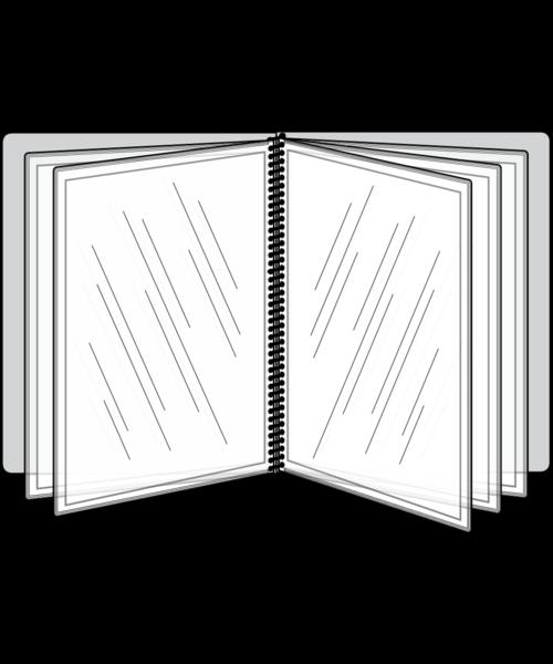 10 View Pajco Spiral Bound Menu Cover