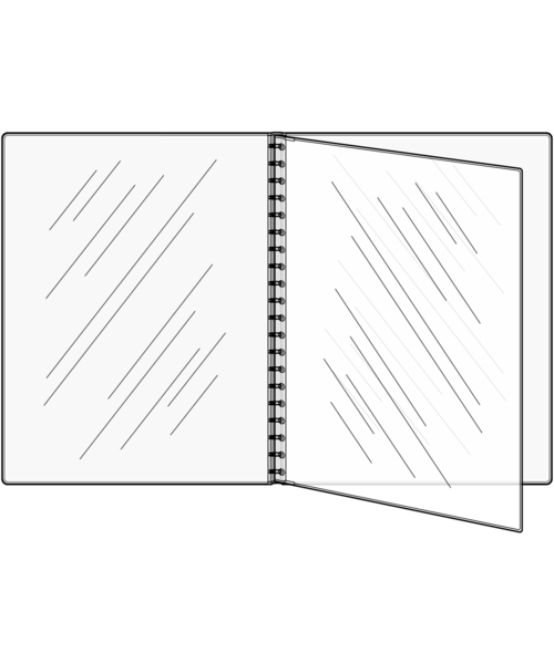 Triple Booklet Padded Menu Covers