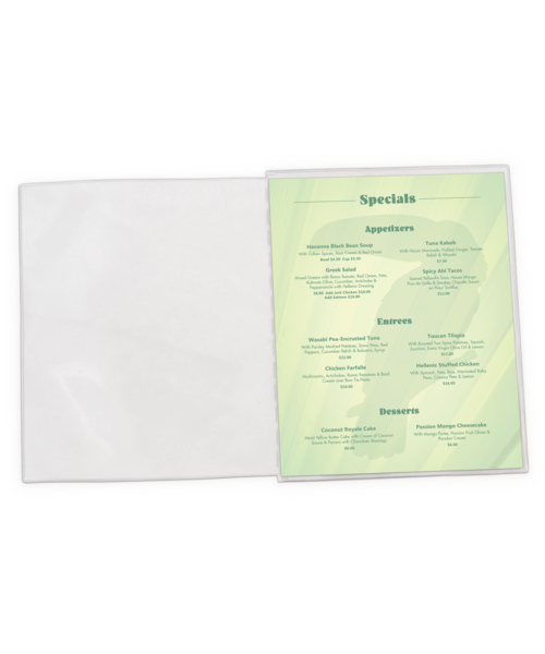 Add-a-Pocket Menu Inserts