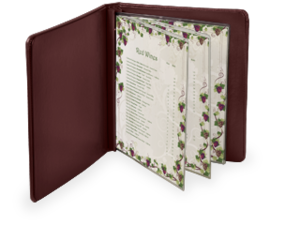 Menu Covers with Screw Post Binding image