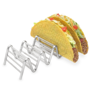 Image Stainless Steel 4 or 5 Taco or Pita Holder
