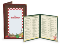 Economy Cafe Style Menu Covers