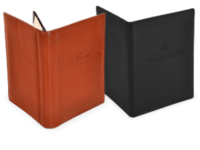 Image Genuine Leather Menu Covers