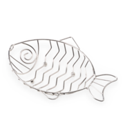 Image Large Stainless Steel Fish and Sandwich Basket