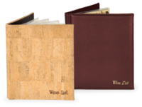 Wine Menu Covers and Wine Lists
