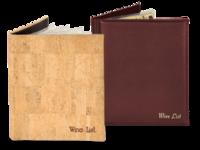 Image Wine Menu Covers and Wine Lists