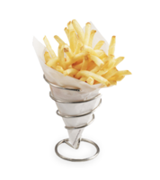 Image Small Chrome Fry Cone