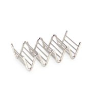 Image Stainless Steel 3 or 4 Taco or Pita Holder
