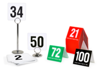 Image Table Numbers and Stands