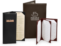 Image Imitation Leather Menu Covers