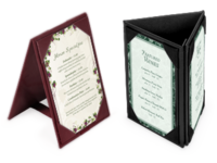 Image A-frame Table Tents and Menu Holders