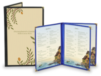 Image Cafe Style Restaurant Menu Covers