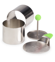 Image Medium Stainless Steel Food Rings