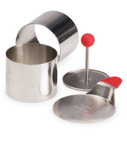 Image Small Stainless Steel Food Rings