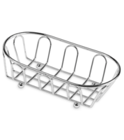Image Small Chrome French Basket