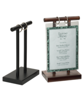 Image Wooden T-Bar Table Tents