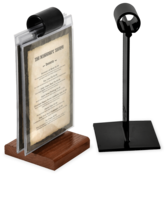 Image The Menu Roll™ Flip Stand Menu Holder
