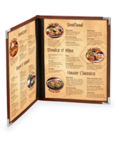 Image Dynasty Menu Covers - 2 views