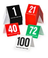 Image Table Number Tents