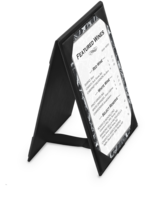 Image Imitation Leather A-Frame Table Tents