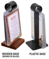 Image 'Show Off'  Flip Stand Menu Holders <b>LOW PRICE</b>