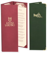 Image Casebound Bistro Menu Covers