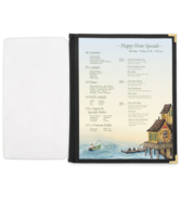 Image Full Width Pocket with Fabric Binding - 8.5 in. x 14 in.