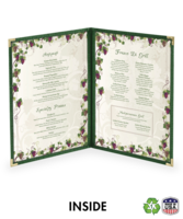 Image Double (4 view) Deluxe Cafe Menu Covers (Style #1310)