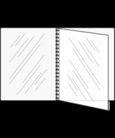 Image Triple Booklet Pad 'n Seal (Four View) Menu Covers