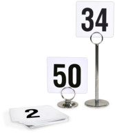 Image Table Numbers