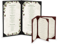 Image Quick Ship Casebound Menu Covers