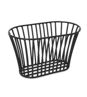 Black Tuscan Style Stackable Bread Basket