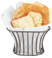 Tuscan Style Bread Serving Basket