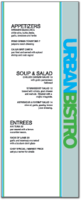 Urban Bistro Menu Template